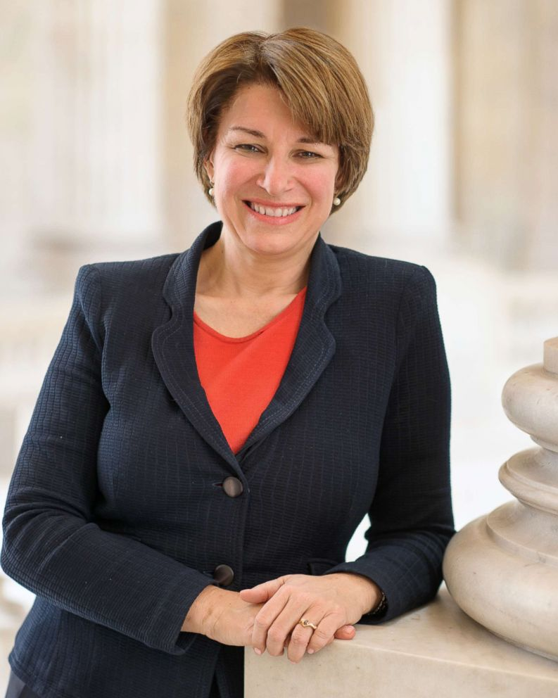 PHOTO: Official portrait of U.S. Senator Amy Klobuchar, D-MN.