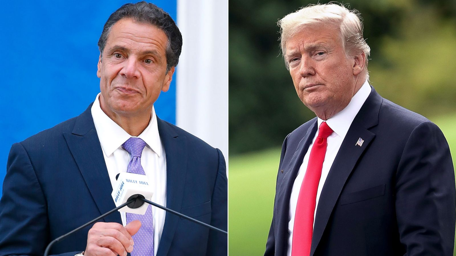 Cuomo Continues War Of Words With Trump Abc News