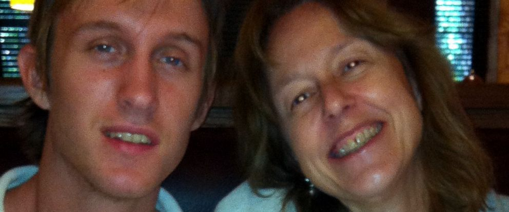 PHOTO: Gayle Giese and her son, Andrew, shortly after he was diagnosed with schizophrenia around age 17.