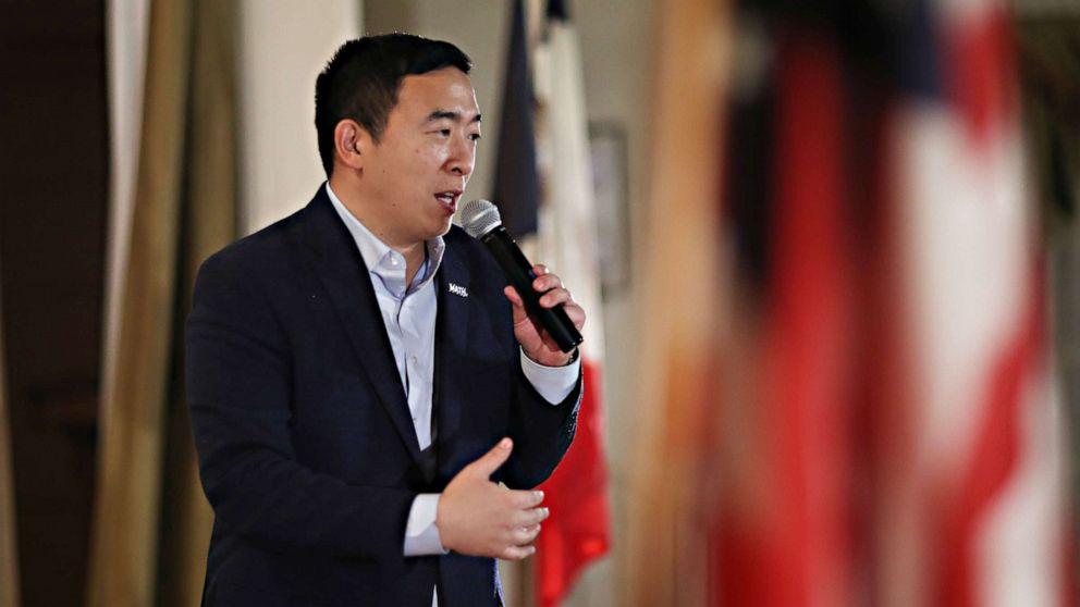 Andrew Yang στους ψηφοφόρους: ΕΝΤΆΞΕΙ για να πάει με ένα μη-δημιουργία υποψήφιος