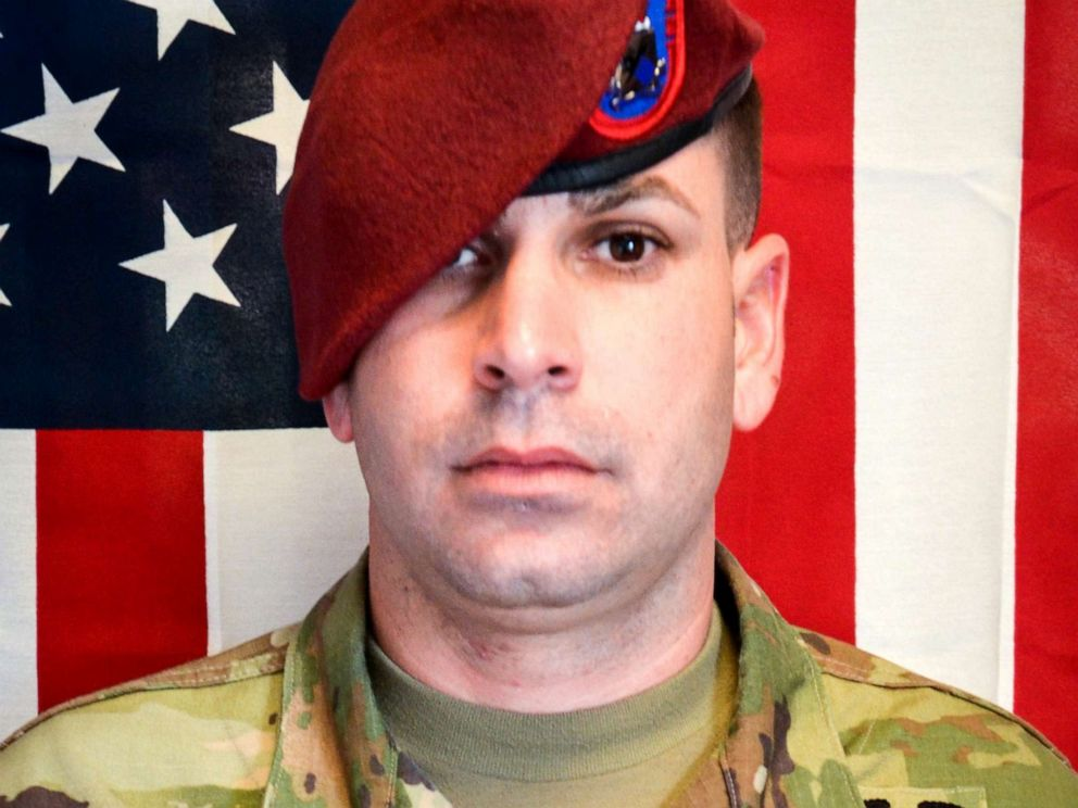 PHOTO: Sgt. 1st Class Elis Angel Barreto Ortiz of Morovis, Puerto Rico, with the 3rd Brigade Combat Team, 82nd Airborne Division was killed in Kabul, Afghanistan, Sept. 5, 2019, by a vehicle borne improvised explosive device.