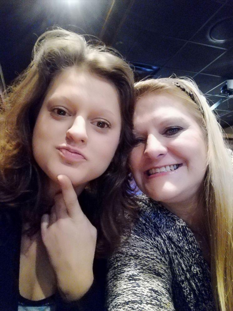 Angelica Caye Kuhn is seen with her daughter, Lauren Kuhn, left, in this undated photo.