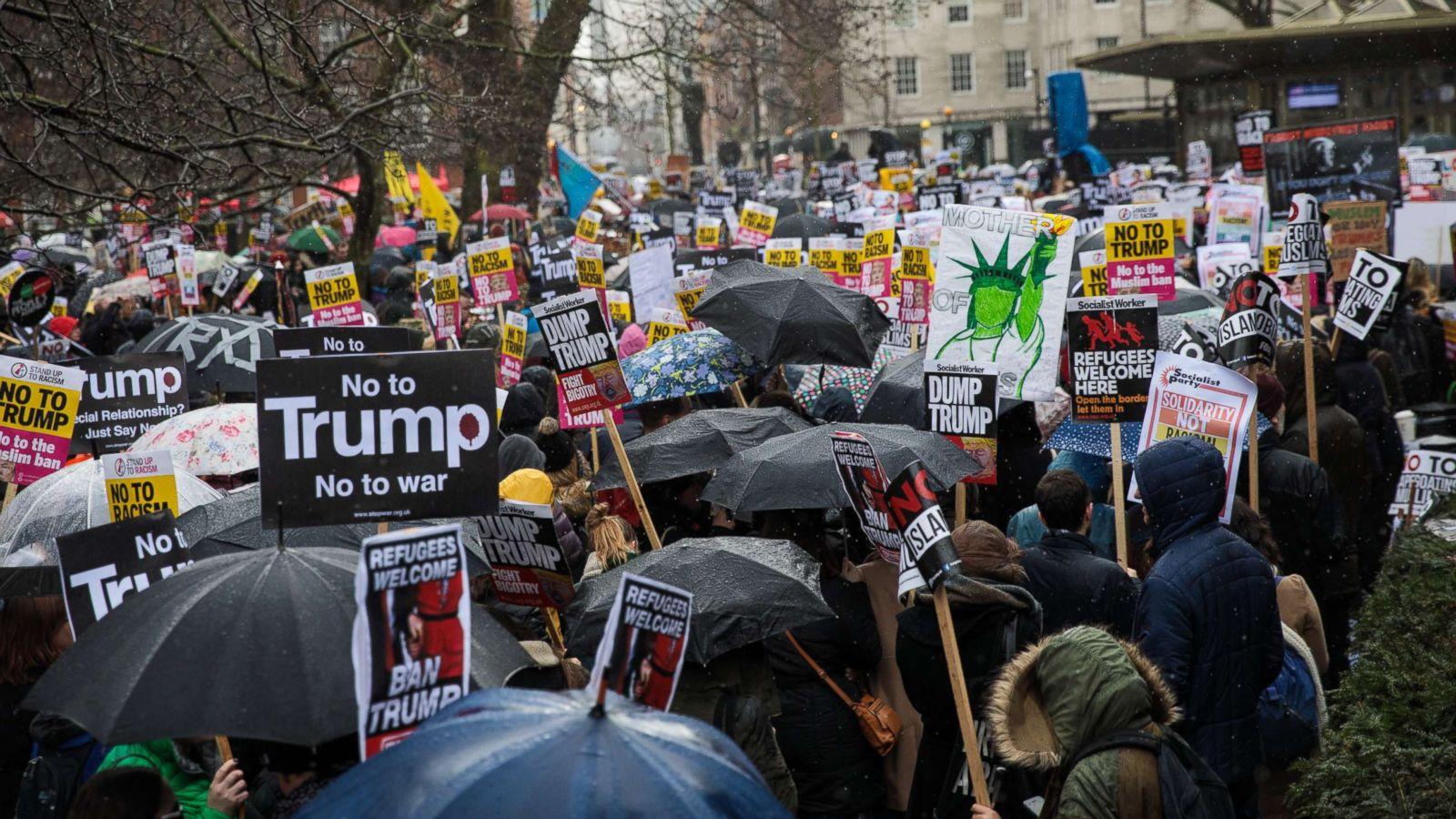 abcnews.go.com - Elizabeth Brown-Kaiser - Trump visits UK amid acrimonious relationship with London