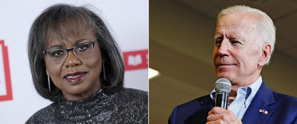 PHOTO: Anita Hill and Joe Biden