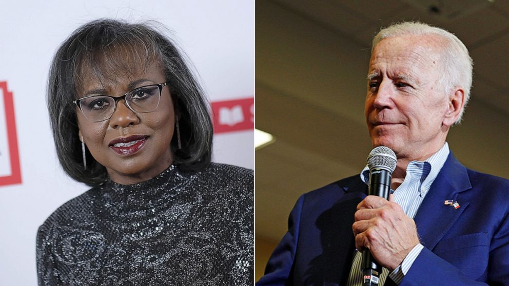 Anita Hill now says 'of course' she could vote for Joe Biden if he becomes nominee