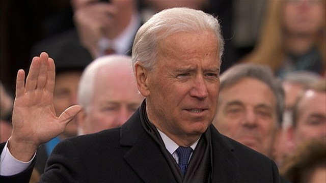VIDEO: Joe Biden took the oath of office from Supreme Court Justice Sonya Sotamayor.