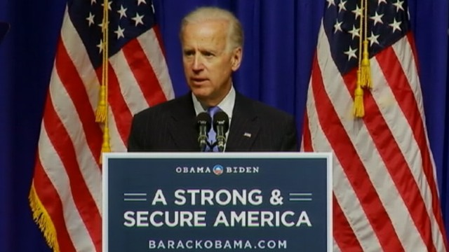 """VIDEO: Vice President accuses Mitt Romney of having a """"cold war mindset."""""""