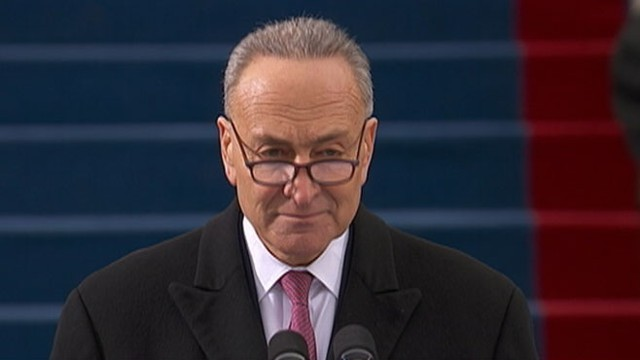 VIDEO: Democratic senator from New York is also the Inaugural Ceremonies Chairman.