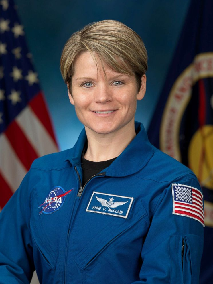 PHOTO: NASA Astronaut Anne McClain