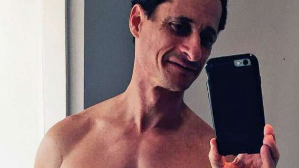 Anthony Weiner is pictured in an undated self-portrait that was released in 2016.