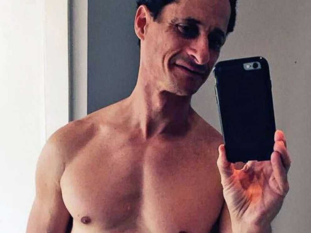 PHOTO: Anthony Weiner is pictured in an undated self-portrait that was released in 2016.