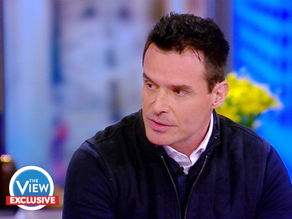 PHOTO: Antonio Sabato Jr. appears on The View, Feb. 8, 2018.