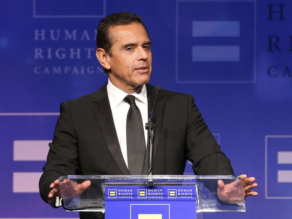JB Lacroix  Getty Images Antonio Villaraigosa attends the Human Rights Campaign's 2017