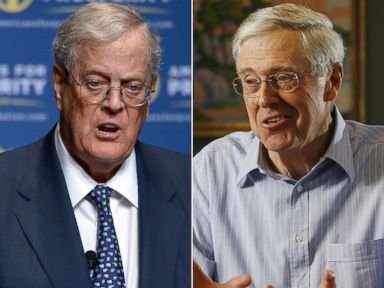 Koch brothers taking on Trump with free trade campaign