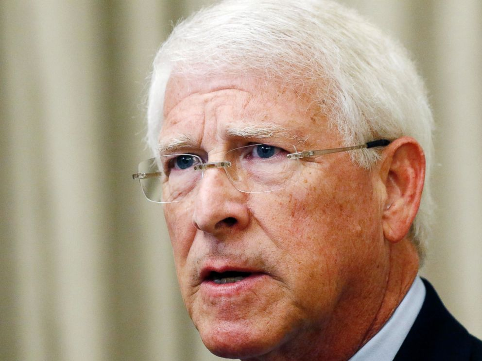 In this Monday, Aug. 14, 2017, file photo, U.S. Sen. Roger Wicker, R-Miss., speaks during an address in Jackson, Miss. Mississippi lawmaker Chris McDaniel is hinting strongly that he will challenge Wicker in the 2018 U.S. Senate race.