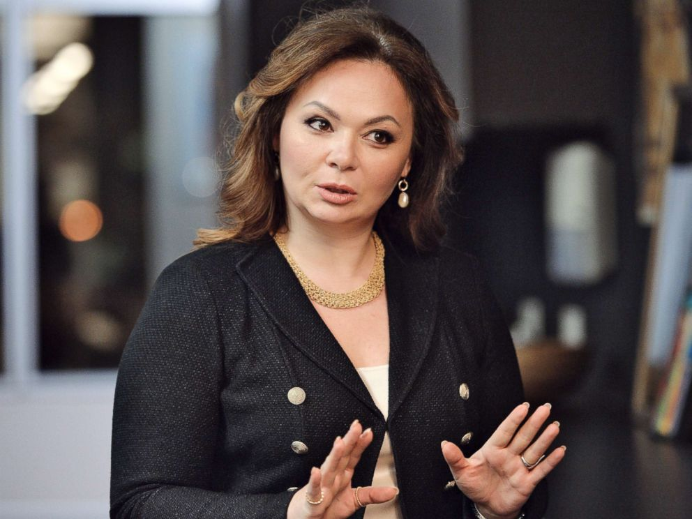 PHOTO: Kremlin-linked lawyer Natalia Veselnitskaya speaks to a journalist in Moscow, Nov. 8, 2016.
