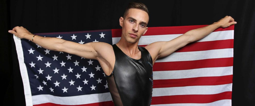 PHOTO: United States Olympic Winter Games figure skater Adam Rippon poses for a portrait at the 2017 Team USA Media Summit Monday, Sept. 25, 2017, in Park City, Utah.