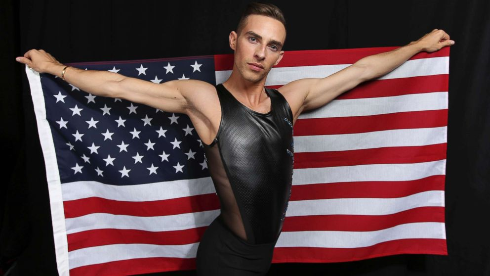 United States Olympic Winter Games figure skater Adam Rippon poses for a portrait at the 2017 Team USA Media Summit Monday, Sept. 25, 2017, in Park City, Utah.