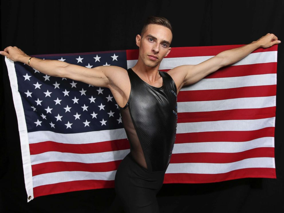 Winter Games figure skater Adam Rippon poses for a portrait at the 2017 Team USA Media Summit Monday Sept. 25 2017 in Park City Utah