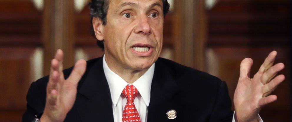 PHOTO: This June 11, 2013 photo shows New York Gov. Andrew Cuomo during a news conference in the Red Room at the Capitol in Albany, N.Y.