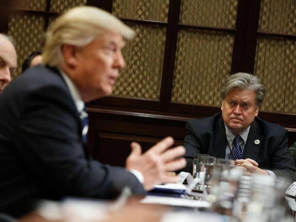 Bannon stonewalls House panel after WH advised him to invoke executive privilege