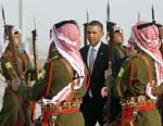 PHOTO: President Obama arrives in Jordan