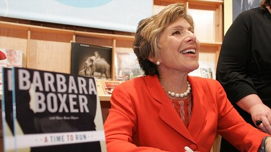 PHOTO: Barbara Boxer