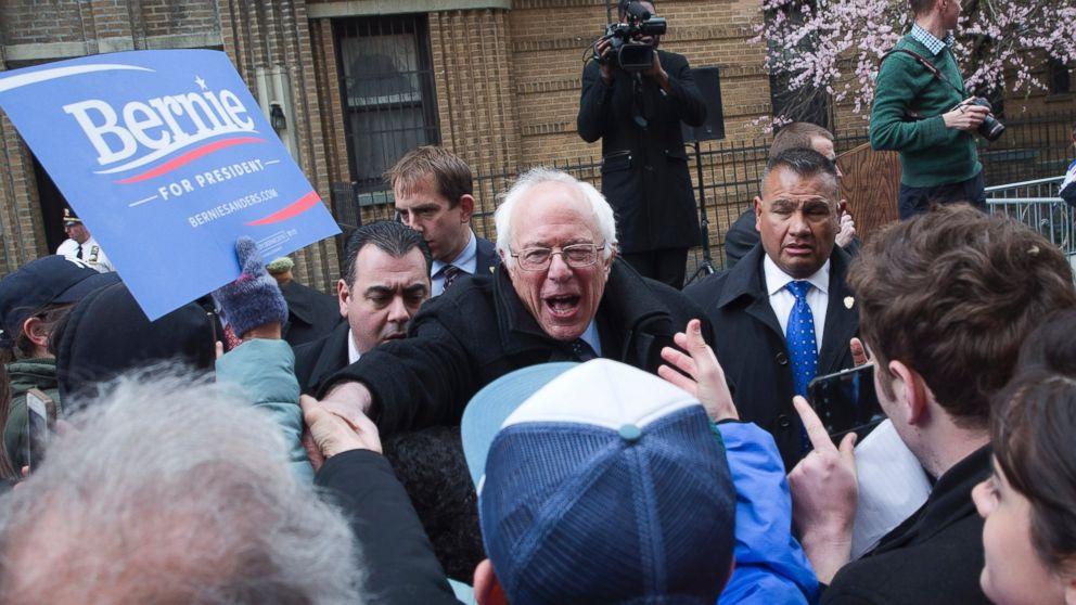 Bernie Sanders Releases 39 New York Values 39 Ad Abc News