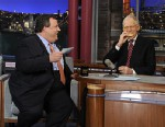PHOTO: Chris Christie and David Letterman