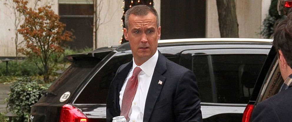 PHOTO: Corey Lewandowski, Republican political commentator and former campaign manager for the Donald Trump 2016 U.S presidential campaign, spotted arriving at The View carrying a Monster energy drink, in New York, New York on December 5, 2017.