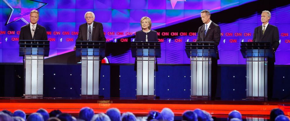 the best lines from the 2016 democratic presidential debate abc news