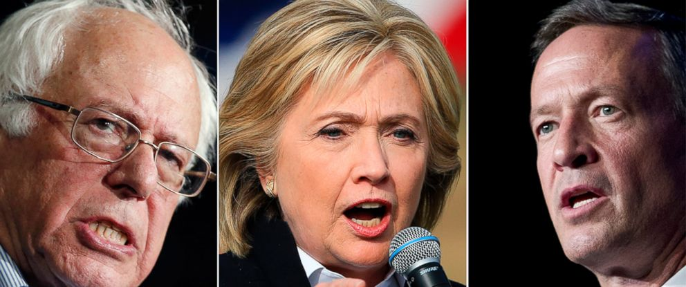 PHOTO: The Democratic candidates will debate on Oct. 13, 2015.