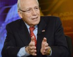 PHOTO: Former Vice President Dick Cheney speaks on Fox News Sunday in Washington, Sunday, June 16, 2013.