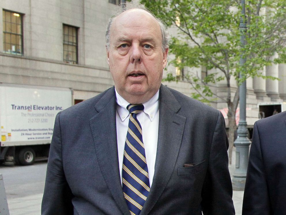 PHOTO: In this April 29, 2011, file photo, Attorney John Dowd walks in New York.