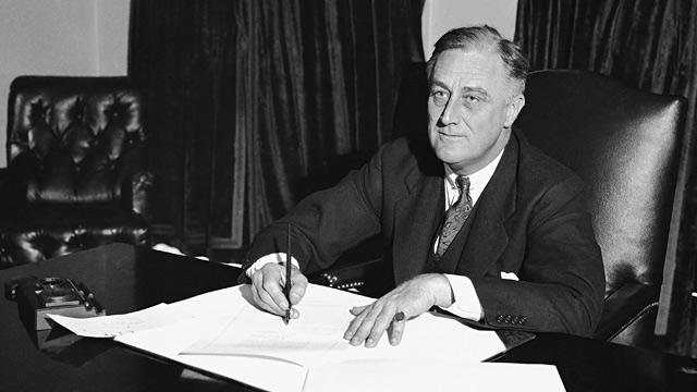 PHOTO: Franklin D. Roosevelt