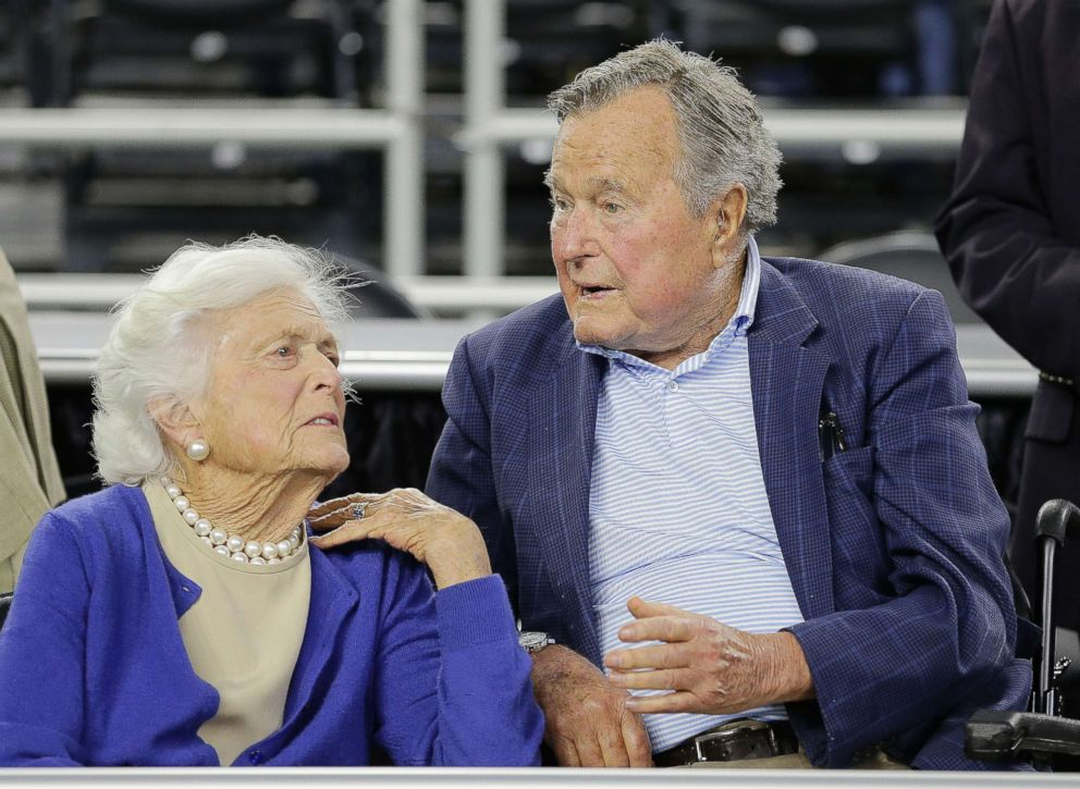 Strict procedures in place for Barbara Bush visitation on Friday