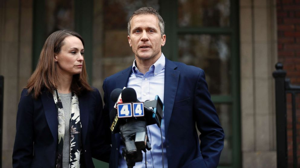 Missouri governor admits to affair but denies reports he