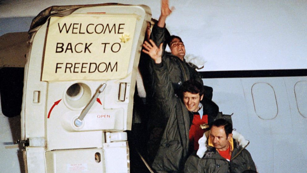 Image result for iran releases hostages in 1981