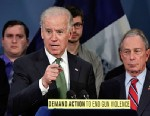 PHOTO: Joe Biden and Michael Bloomberg
