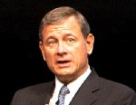 """PHOTO: U.S. Supreme Court Chief Justice John Roberts attends """"A Conversation With the Chief Justice"""" at Rice University, Oct. 17, 2012, in Houston."""