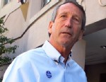 PHOTO: Former South Carolina Gov. Mark Sanford answers questions from reporters after voting in Charleston, S.C., April 2, 2013.