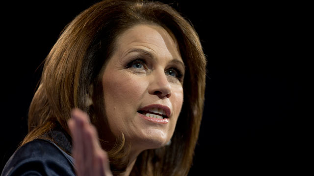PHOTO: Rep. Michelle Bachmann, R-Minn., speaks at the 40th annual Conservative Political Action Conference in National Harbor, Md., March 16, 2013.