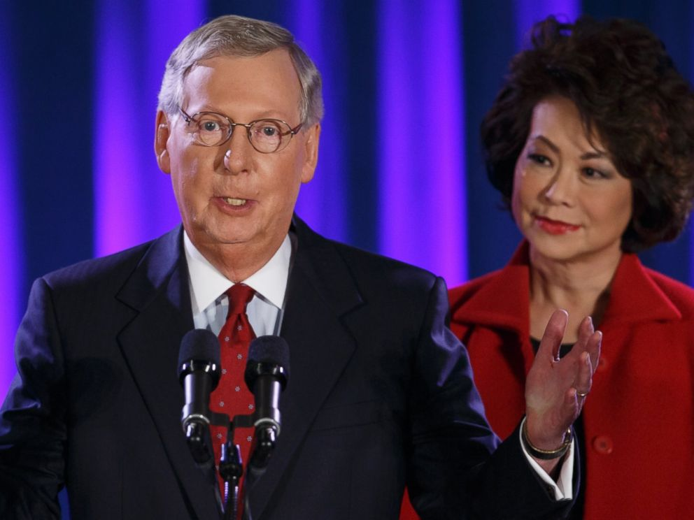 √ Mitch Mcconnell Wife - Mcconnell has three daughters
