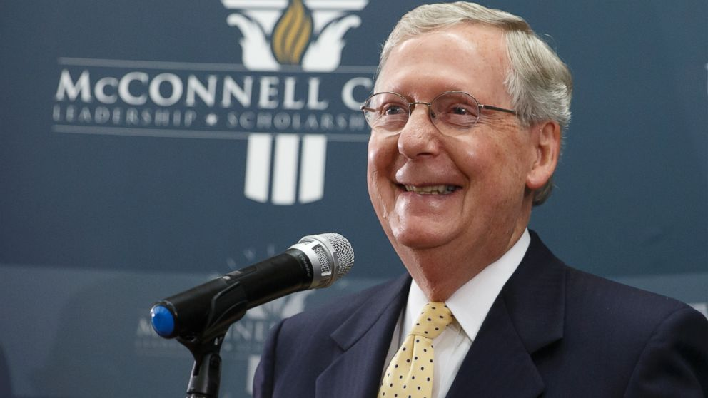 Image result for photos of mitch mcconnell