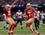 PHOTO: Colin Kaepernick touchdown