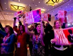 PHOTO: Supporters of Sen. Rand Paul cheer as Paul speaks at the 40th annual Conservative Political Action Conference in National Harbor, Md., March 14, 2013.