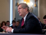 PHOTO: Agriculture Secretary Tom Vilsack testifies on Capitol Hill in Washington, March 5, 2013, before the House Agricultural Committee hearing to review the state of the rural economy.