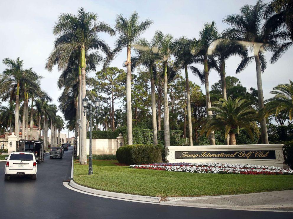 PHOTO: President Donald Trump arrives at the Trump International Golf Club, Saturday, Nov. 25, 2017, in West Palm Beach, Fla.