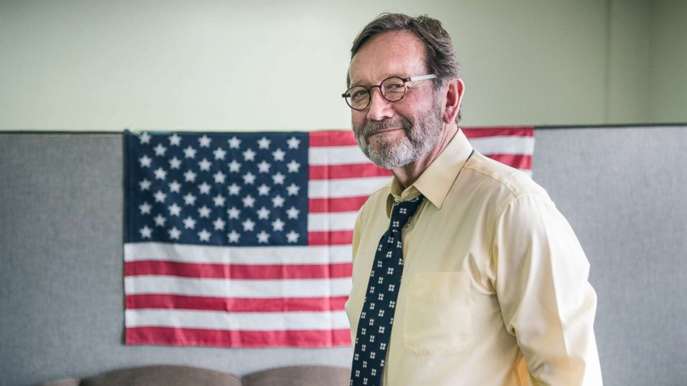 Democratic congressional candidate Archie Parnell stands in the Lee County Democratic campaign offices, June 19, 2017, in Bishopville, South Carolina.