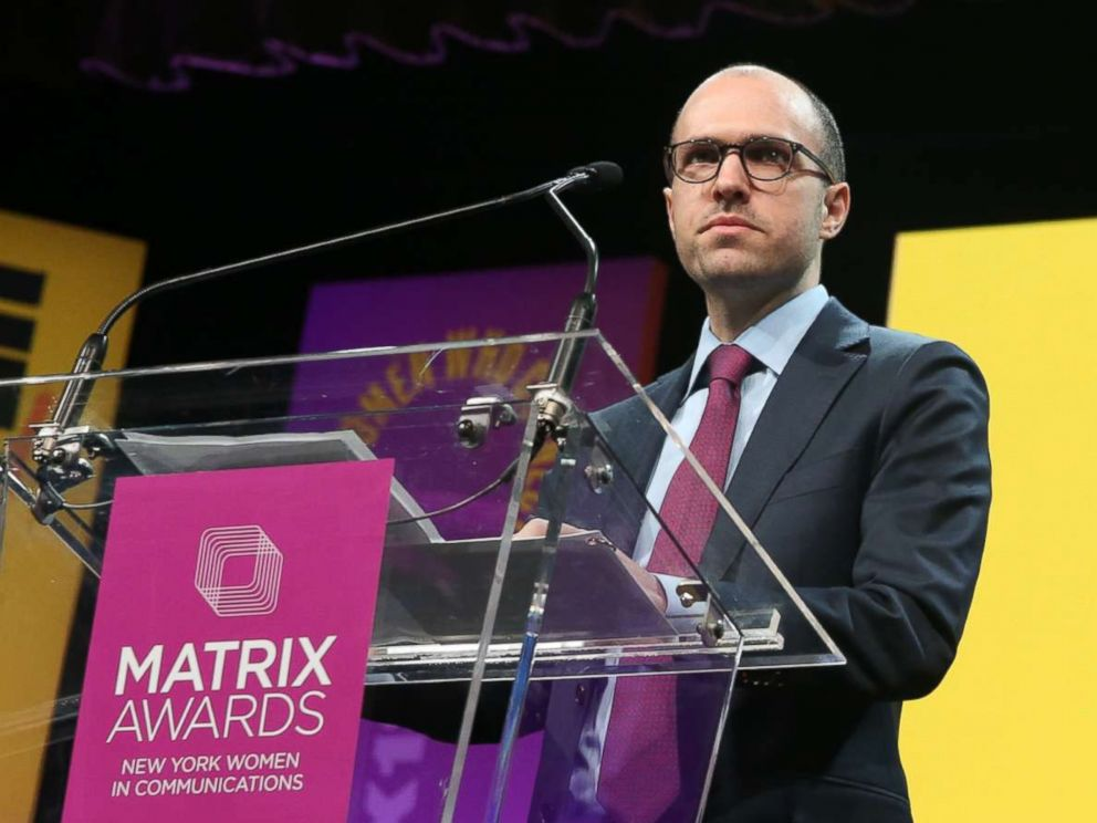 PHOTO: A.G. Sulzberger attends the 2018 Matrix Awards at Sheraton Times Square on April 23, 2018 in New York City.